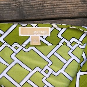 Michael Kors Tops - Michael Kors lime green blouse